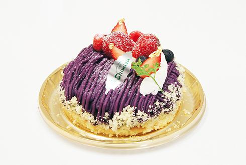 紫芋のアントルメ
