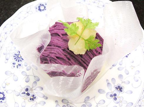 紫いも モンブラン(季節限定)