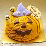 ハロウィンのかぼちゃモンブラン