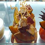 栗とかぼちゃのタルト