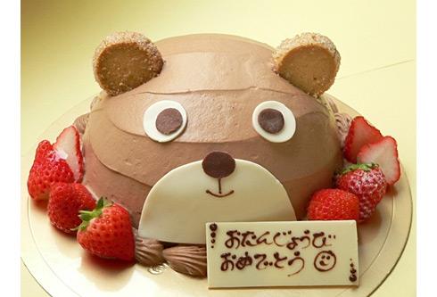 くまさんのチョコケーキ