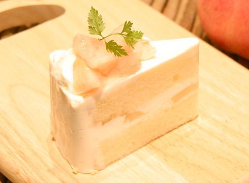 桃のショートケーキ(ピース)