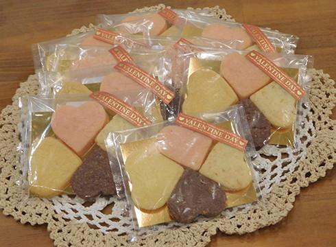 幸せ四つ葉クッキー