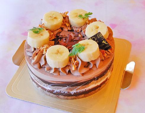 チョコナッツバナナ