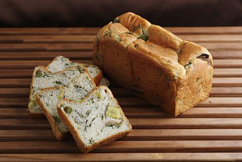 野菜の食パン
