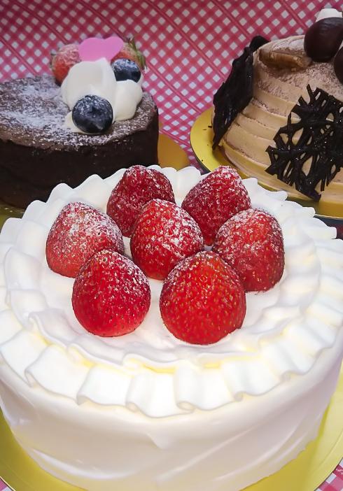 各種ホールケーキ
