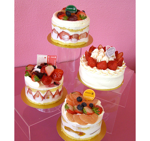 デコレーションケーキ各種