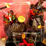 ハロウィン型ぬきチョコレイトたち