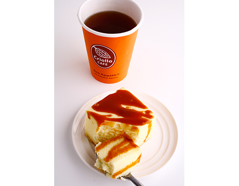 温かい&冷たいチーズケーキ